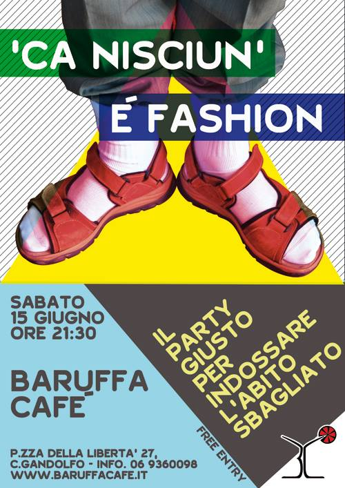 anti fashion party Roma 2013