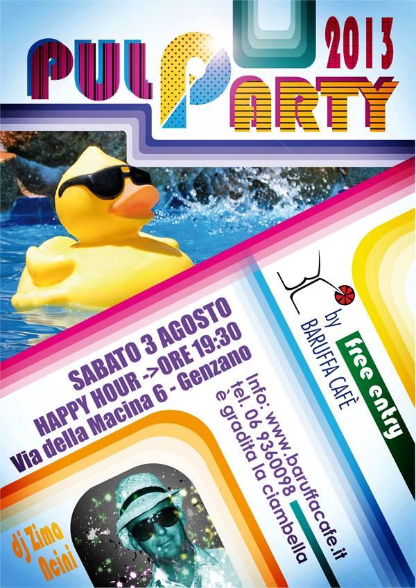 festa piscina Roma 2012